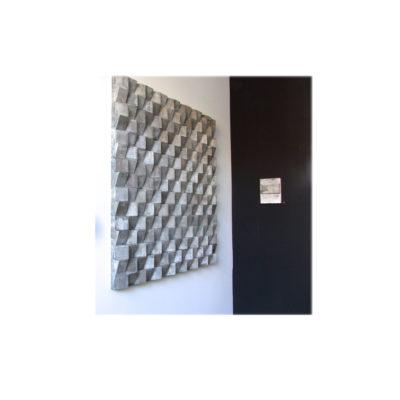 Taupe/Grey Blocks.104x104x5cm